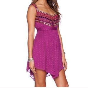 NWT Free People embellished jewel dress